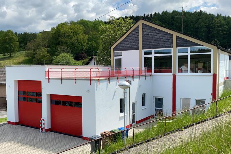 Mehr Platz für die Löschgruppe Rinsdorf