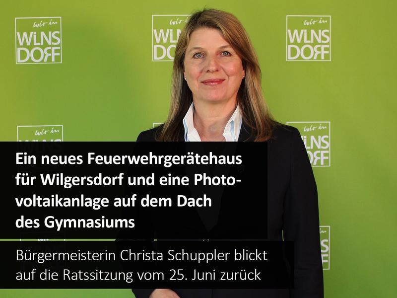 Beschluss des Gemeinderates: Neues Feuerwehrgerätehaus für die Löschgruppe Wilgersdorf!