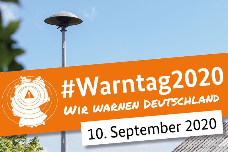 10. September: Bundesweiter Warntag